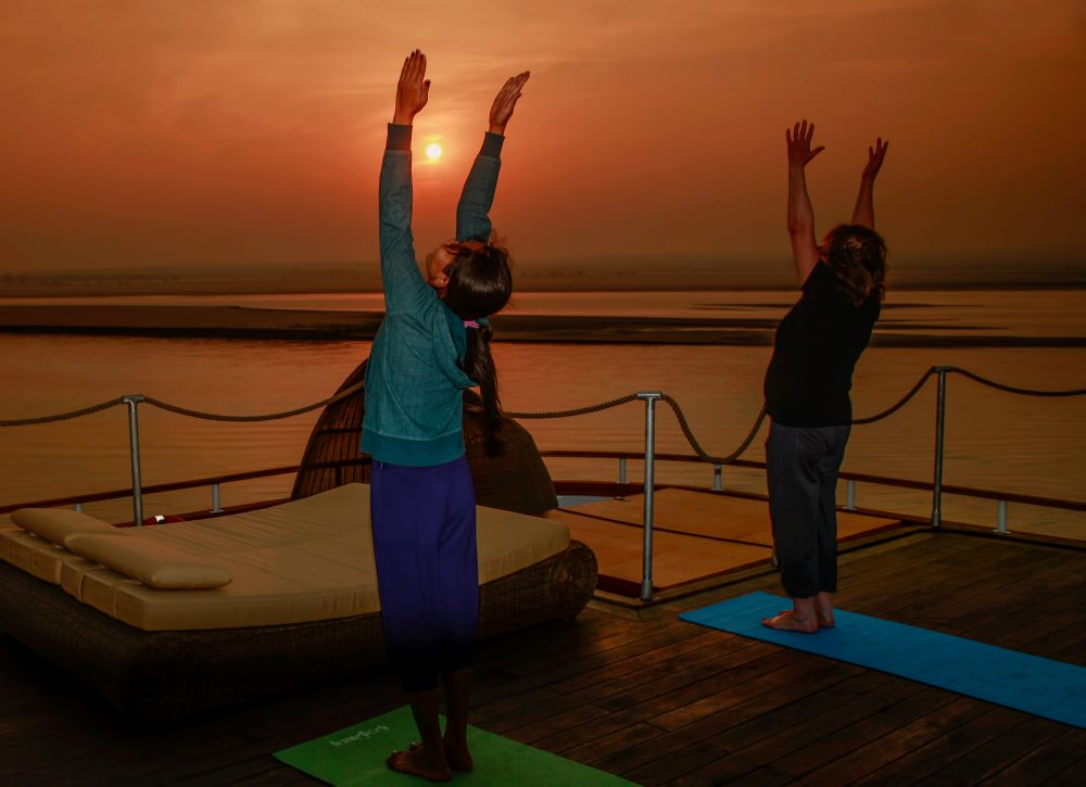 Heritage Line - MY Anawrahta - Life on board Yoga Class